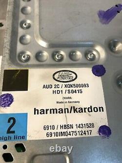 05-09 Range Rover Hse -sport- Land Rover LR3 Rad Audio Amplifier Harman Kardon