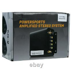 1000W Amp Motorcycle bluetooth 4 Speakers Audio Stereo System USB FM For ATV UTV