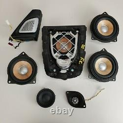 2013-2016 Bmw M5 F10 B&o Door Central Dash Speaker Tweeter Audio Set Oem
