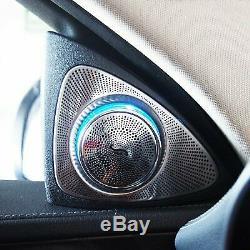 2Front Door Tweeter Speaker Sound Stereo For Benz E Class W213 2016-2017 4Door