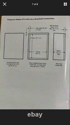 2X (Pair) Monitor Audio Radius In- ceiling Stereo/FX Speakers