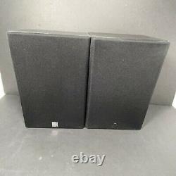 2 KEF C15 SPEAKERS. 4 Ohms @ 80 W, Book Shelf, Pro Studio, Hi Power Stereo Audio