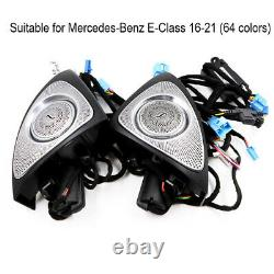 2pcs Car Front Door Tweeter Sound Stereo Speaker Audio for Mercedes-Benz E-Class