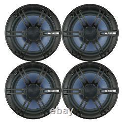 4 Enrock Audio EC1865BM 6.5 120 Watt 2-Way Boat Audio Coaxial Speakers Stereo