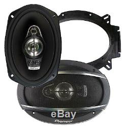 4 x Pioneer TS-A6970F 6 X 9 600W Max Coaxial 5-Way Stereo Car Audio Speakers