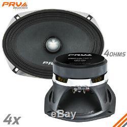 4x PRV Audio 69MR500-PhP-4 Mid Range Car Stereo 6x9 Speaker 4 ohm 6x9 PRO 2000W