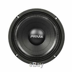 4x PRV Audio 8MB450-4 Mid Bass Car Stereo 8 Speaker 4 ohm 8MB PRO 1800 Watts