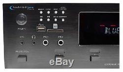 6000w 7.2ch 12 Speaker 6 Zone Digital Stereo Audio Power Amp Amplifier Receiver