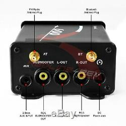 600W Amp Bluetooth Waterproof ATV UTV RZR Polaris Stereo 3-Speakers Audio System