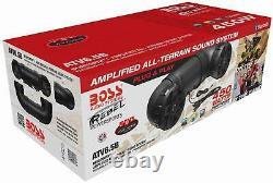 ATV Bluetooth Speaker Golf Cart All Terrain Stereo Sound System UTV Boat 450 W