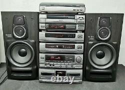 Aiwa MX-Z9500 Stereo Stack System Hifi Separates Sound Speakers