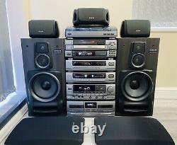 Aiwa MX-Z9500 Stereo Stack System Hifi Separates Surround Sound Speakers