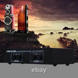 Audio Amplifier Switcher Box Speaker Selector 2 Way Passive Stereo Comparator