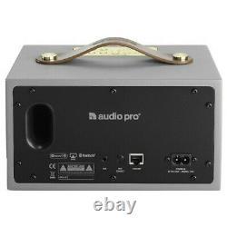 Audio Pro Portable Multiroom Stereo Speaker Grey Addon C3