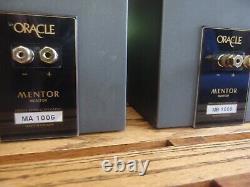 Audiophile Oracle Mentor Monitor Speakers Verity Audio Precursor