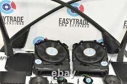 BMW 3 Series E90 E91 2005-2012 Stereo Sound Speaker Set Amplifier Grille