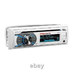 BOSS Audio MCK508WB. 6 Marine Receiver and 1 Pair of 6.5 Inch Full Range Speakers