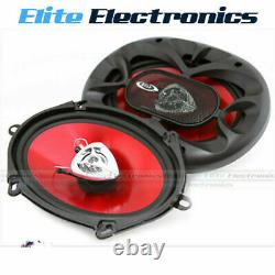 BOSS CH5720 5x7 CHAOS 225W 2-WAY COAXIAL REAR STEREO SPEAKERS PAIR CAR AUDIO