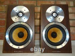 B&W CM1 Bookshelf Speakers Cosmetic Issues but Work Perfectly & Sound Great