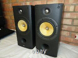 B&W DM602 S2 Bookshelf Speakers Fully Working & Sound Superb Bowers & Wilkins