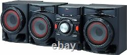 Bluetooth Home Audio Stereo System Speakers 700W Cd Player FM Radio USB Record