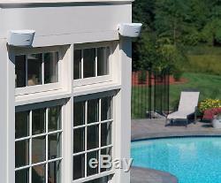 Bose 151 Environmental Popular Outdoor Speakers Full Stereo Music Sound White