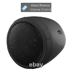 Boss Audio MCBK470B Motorcycle ATV Bluetooth Amp Speakers 1000 watt Stereo