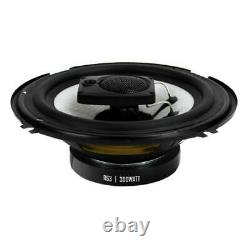 Boss R63 6.5 Inch 300W 3 Way Audio Coaxial 4 Ohm Stereo Speakers Pair (8 Pack)