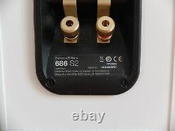 Bowers & Wilkins 686 S2 Bookshelf Speakers 100W 8 HiFi Stereo Audio