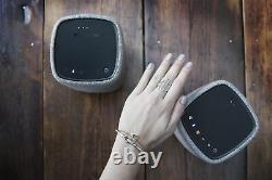 Cambridge Audio Yoyo (M) Stereo Bluetooth Speakers (Light Grey) Refurbished