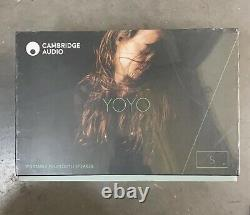 Cambridge Audio Yoyo (S) Stereo Bluetooth Speakers (Dark Grey) Free P&P
