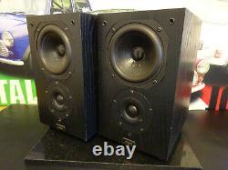 Chario Syntar 100 2 Way Monitor Bookshelf Main Stereo Speakers Hi End Audio