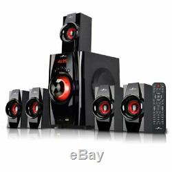 Compact Stereo Sound System Bluetooth Enabled Wired Multimedia Audio Speakers