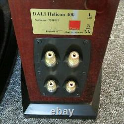 Dali Helicon 400 stereo speakers boxed ideal audio