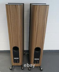 Focal Kanta N2 stereo speakers in walnut ideal audio