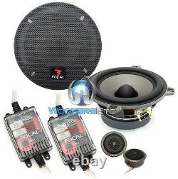 Focal P130 V15 Car 5.25 2-way Component Speakers Mids Crossovers Tweeters New