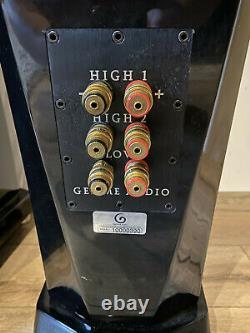 Gemme Audio Katana V. 1 speakers Accuton drivers in unique VFlex cabinet