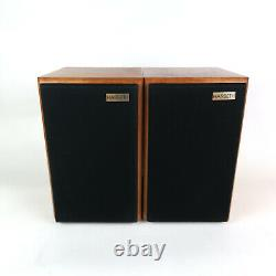 Harbeth LS5/12A stereo speakers ideal audio