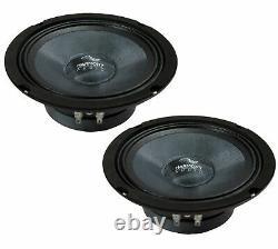Harmony Audio HC-CMB65 Car Stereo Cabron Midbass Midrange 6.5 Speakers 4 Pair