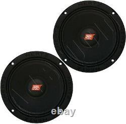 Hertz Sv 200.1 Car Audio Stereo 8 Spl Series Midrange Speakers Set/pair Sv2001