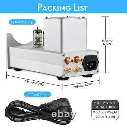 HiFi 6N2 Valve Tube Preamp Home Stereo Preamp Audio Buffer for Active Speakers
