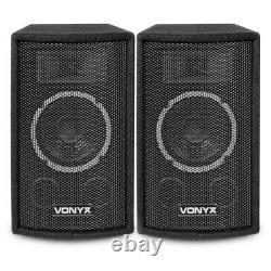 HiFi Speakers and Stereo Amplifier with Bluetooth USB 6 Home Audio Music System
