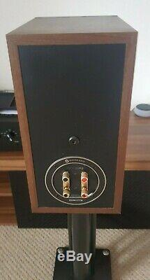 HiFi Stereo System, Yamaha Amplifier, Monitor Audio speakers, Bluetooth, Stands