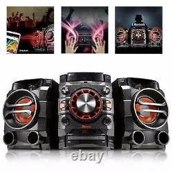 Hi Fi Sound System Powerful Bass Bluetooth FM Radio CD TV Stereo Speakers LOUDR