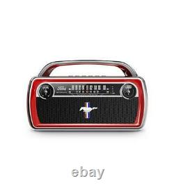 ION Audio Wireless Stereo Speaker with Classic Car Styling ION-MUSTANG-SPEAKER