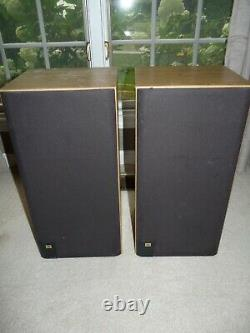 JBL J2080 Floor Standing Stereo Speakers Matching Pair Home Audio USA 22x11x10