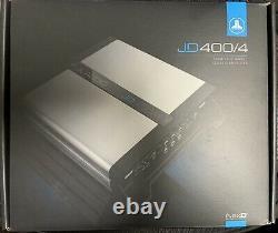 JL AUDIO JD400/4 Car Stereo 4 Channel Amplifier 400W Class D Speakers Amp NEW