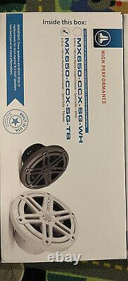 JL Audio Marine Boat Stereo 6.5 Coaxial Speakers 6 1/2