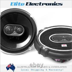 Jbl Gto-638 6-1/2 6-3/4 3-way 180w Coaxial Stereo Car Audio Speaker 6.5 6.75