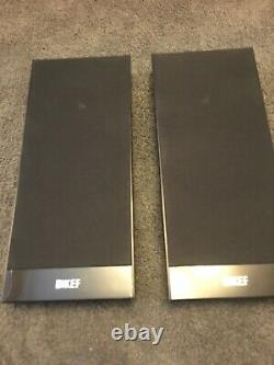 KEF T101 Stereo Surround Sound Super-Flat Speakers Excellent Condition X 2